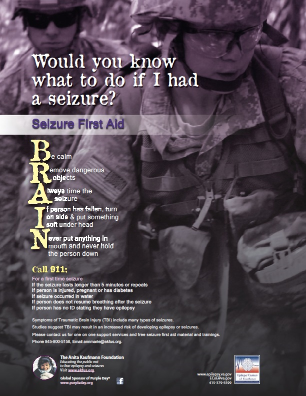 Seizure poster (text on web page)